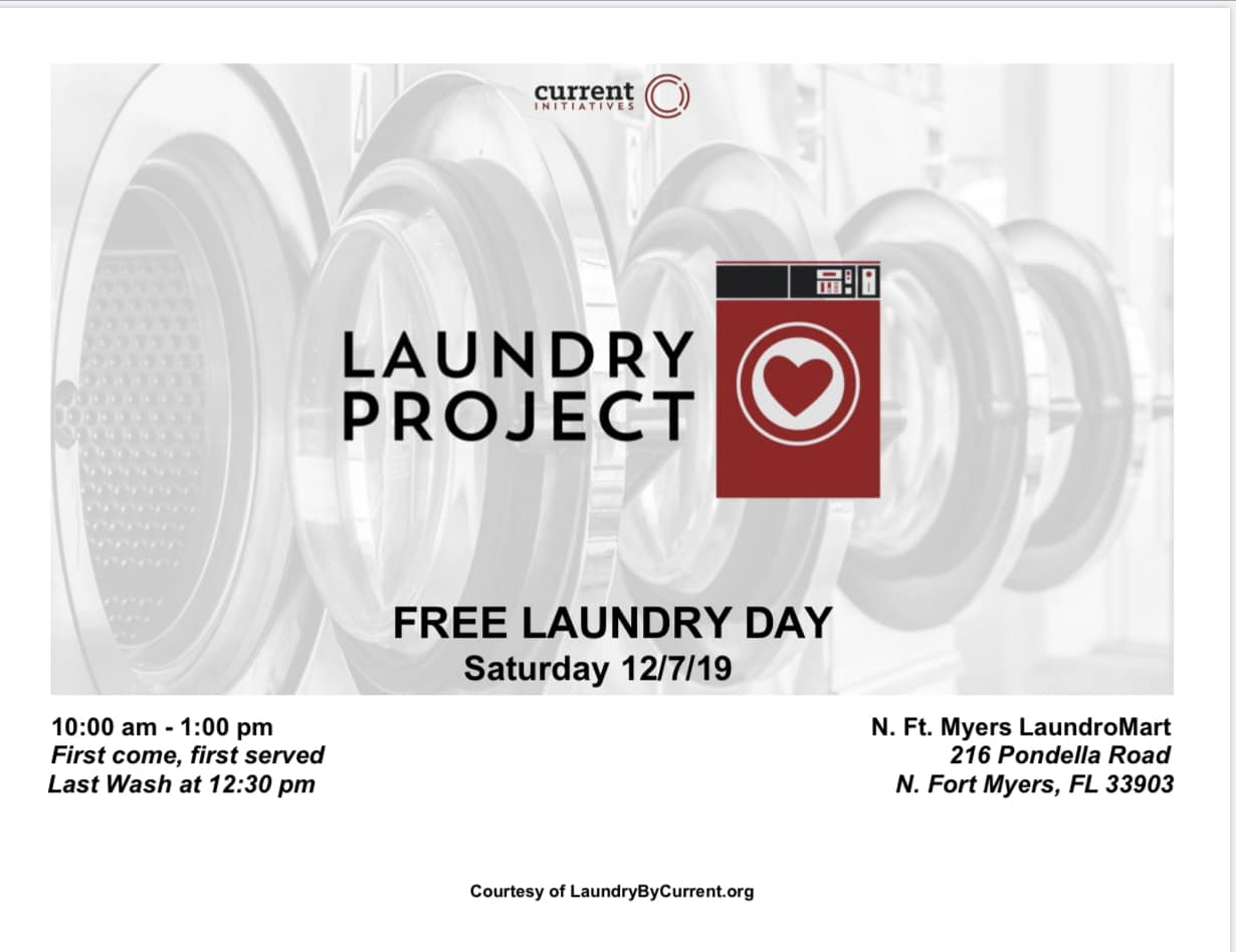 Free Laundry Day - July 2019